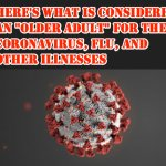 Here's What is Considered an Older Adult in Terms of the Coronavirus, Flu, and Other Illnesses
