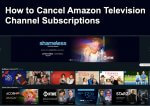 How to Cancel Amazon Television Channel Subscriptions