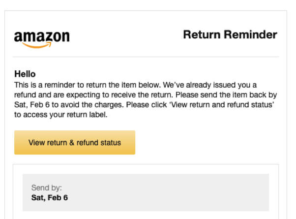 What to Do if Amazon Says that They Never Received Your Amazon Return