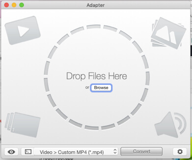 adapter audio to video