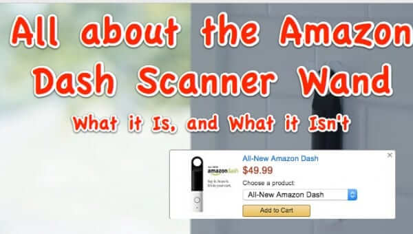 amazon dash scanner wand
