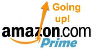 amazon prime going up