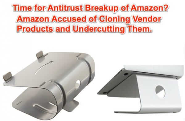 antitrust amazon stealing vendor product ideas
