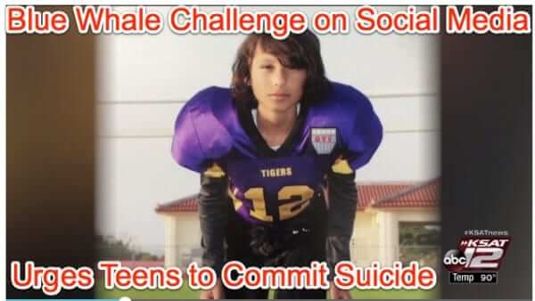 blue whale challenge game suicide