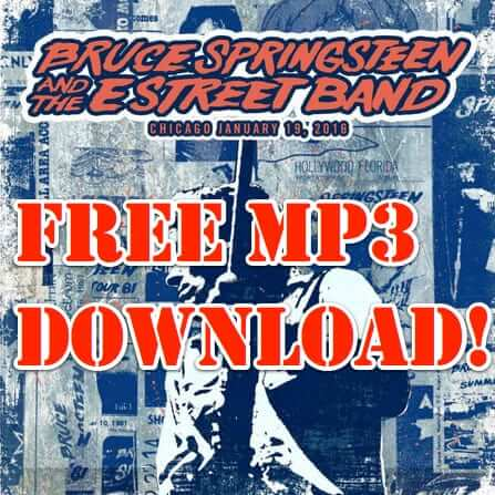 bruce springsteen e street band free concert download