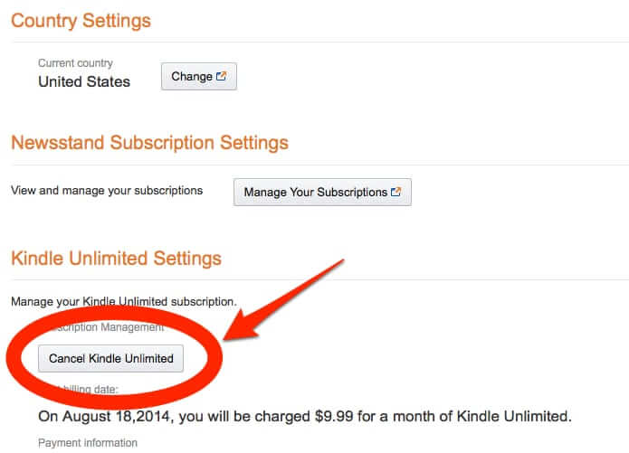 How to Cancel the Kindle Unlimited Service on Amazon