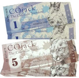 cojacks colorado money currency