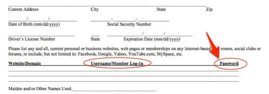 demand facebook password job application-1
