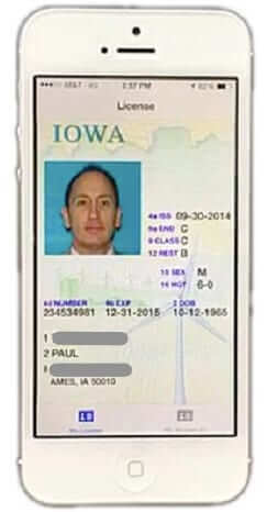 digital drivers license