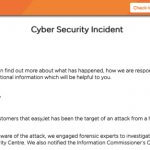 EasyJet Hacked Compromising 9Million Customers Including Credit Card Info