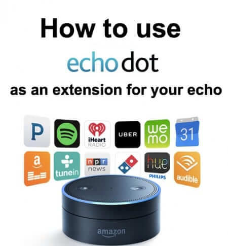 echo dot as echo extension