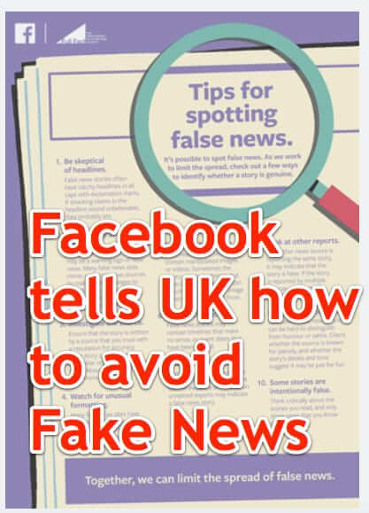 facebook full page advertisment ad tips for spotting false news