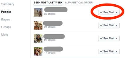 facebook see first priority news feed