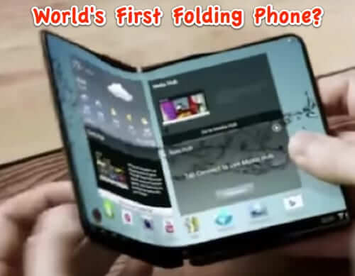 folding foldable smartphone phone