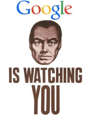 google is big brother watching you