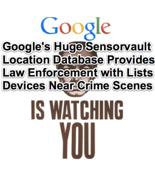 google sensorvault location geofence warrant