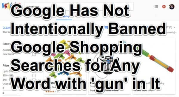 google shopping bans gun guns-1