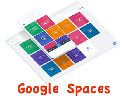 google spaces look and feel