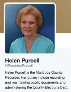 helen purcell maricopa county elections