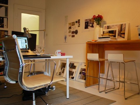 Working from home: a typical home office