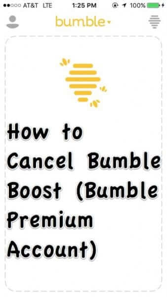 how to cancel bumble boost premium