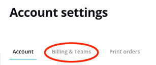 how to cancel canva account breach billing and teams