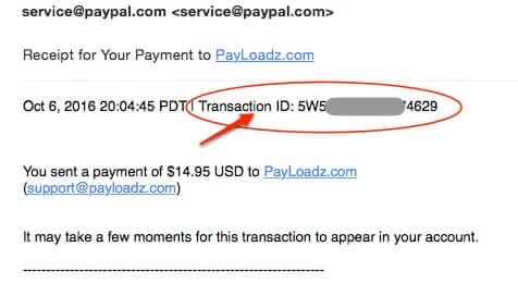 how to cancel paypal subscription payloadz transaction id