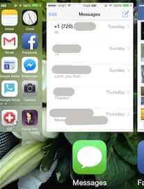 how to close iphone app