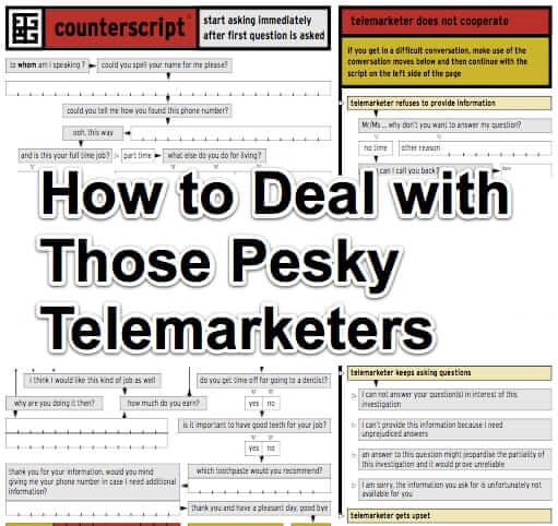 How to Deal with Those Pesky Telemarketers