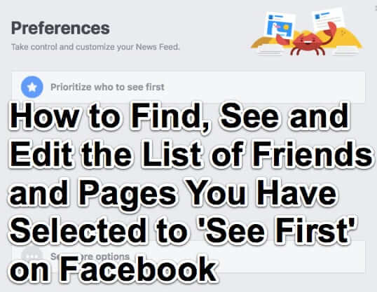 how to find list of see first friends pages facebook-1