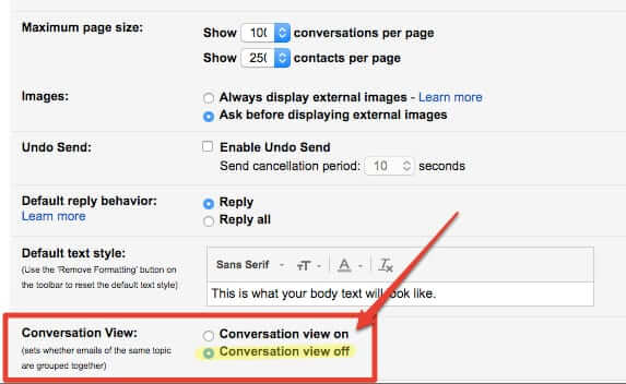 How to Make Gmail Stop Threading Email Conversations (in Mobile Too)