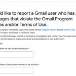 How to Report Spam Coming from Gmail to Gmail and Google