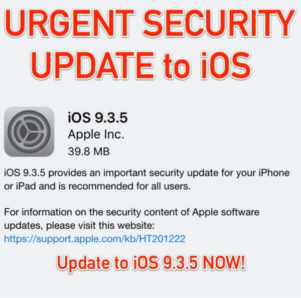 ios 9.3.5 security update trident