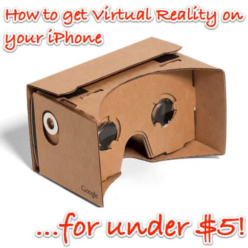 iphone virtual reality VR