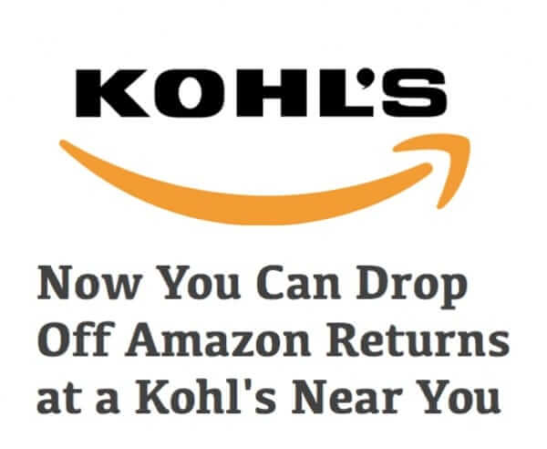 kohls amazon returns program