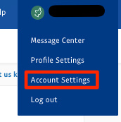 log into paypal account settings