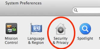 mac system preferences security privacy