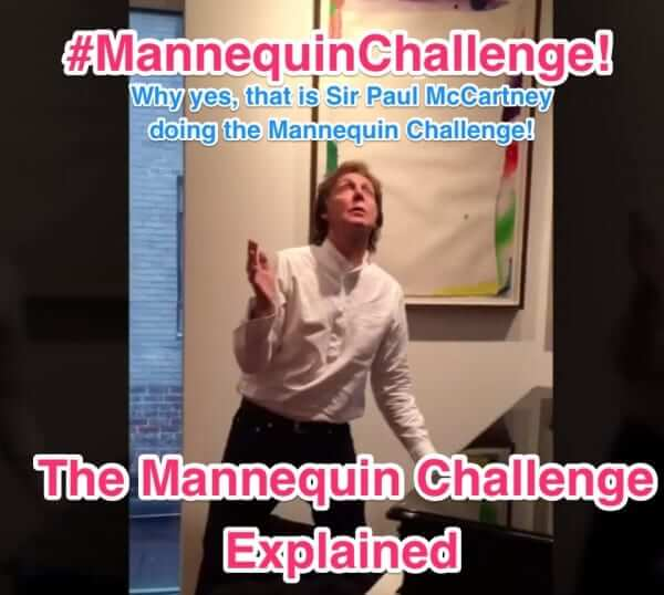 mannequin challenge paul mccartney