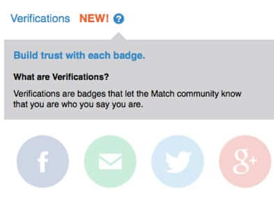 match match.com verification badges
