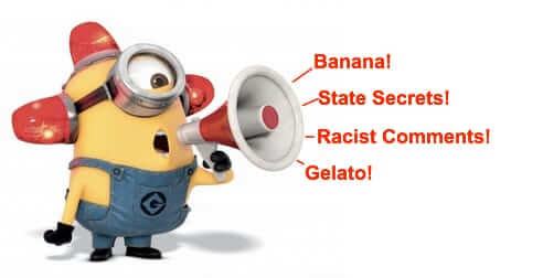 minion email privacy