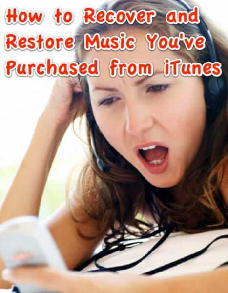 recover restore redownload itunes purchased music