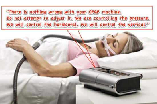 remote control cpap machine