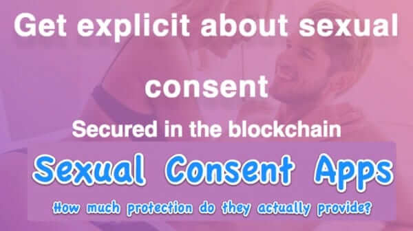 sexual consent apps