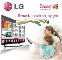 LG smart tv spying on users
