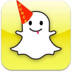 snapchat rejects facebook