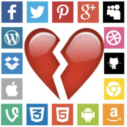 social media broken heart prenup