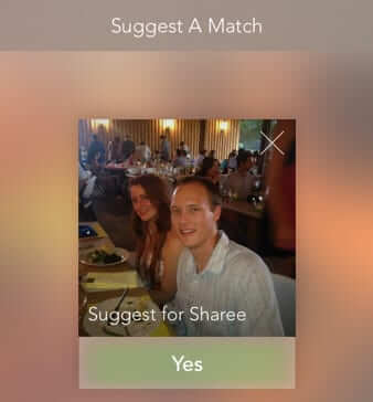 spritzer suggest a match
