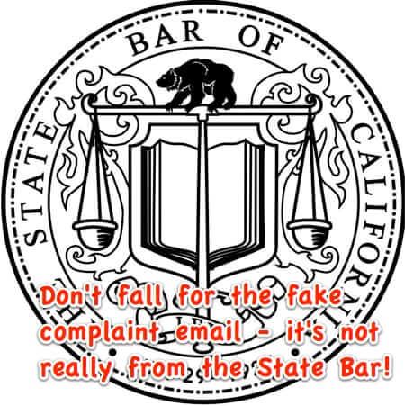 California State Bar Warns of Fraudulent Email