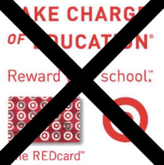 target cancels take charge of education for schools program