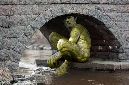 troll under bridge